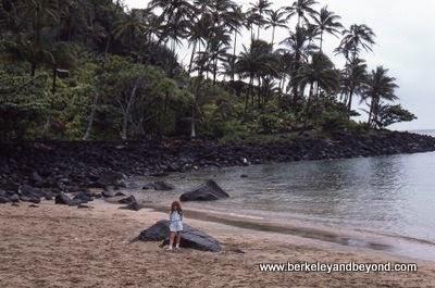 Kee Beach in Kauai, Hawaii