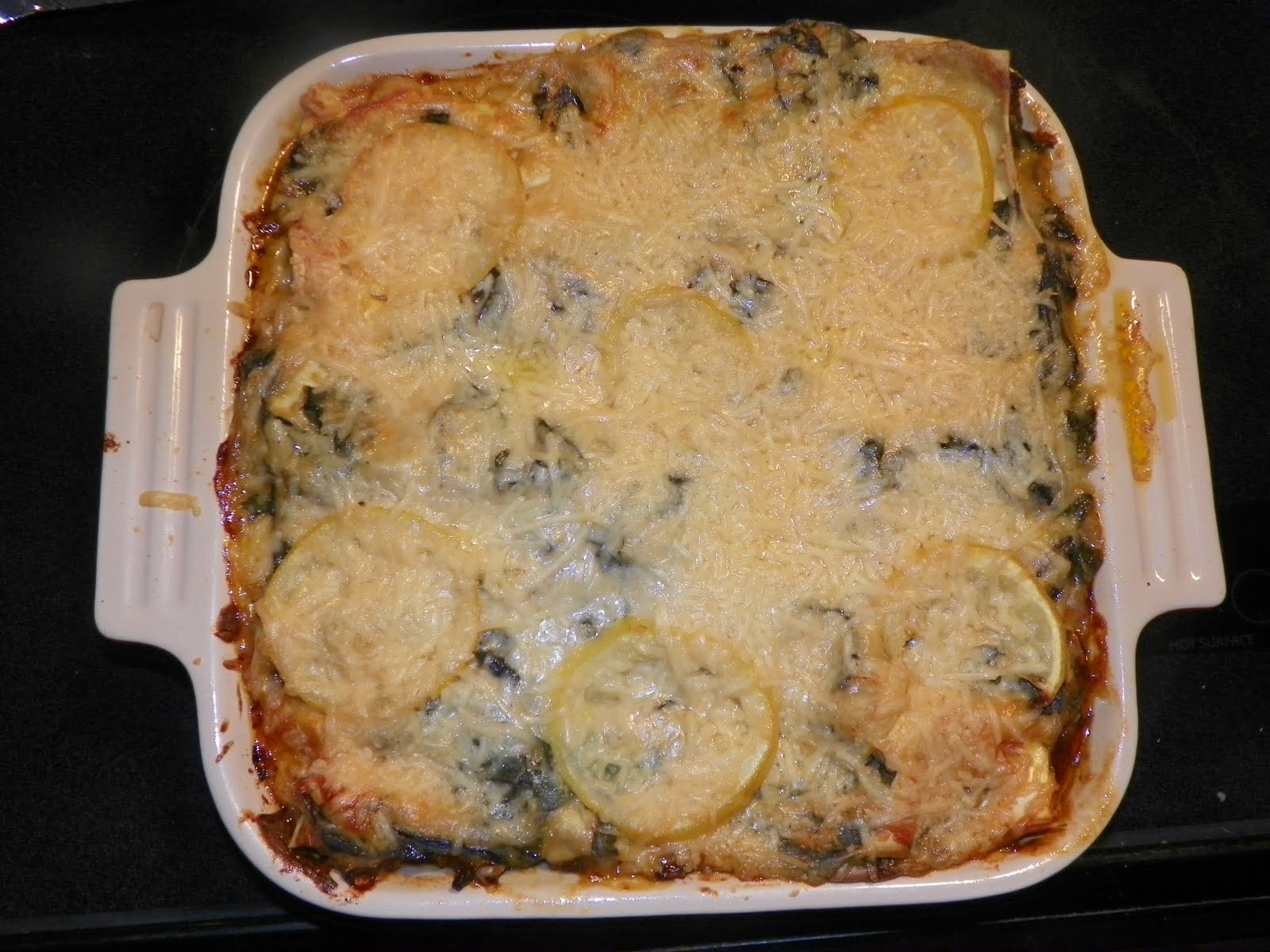 designer bags and dirty diapers: Sausage, Chard, and Lemon Lasagna