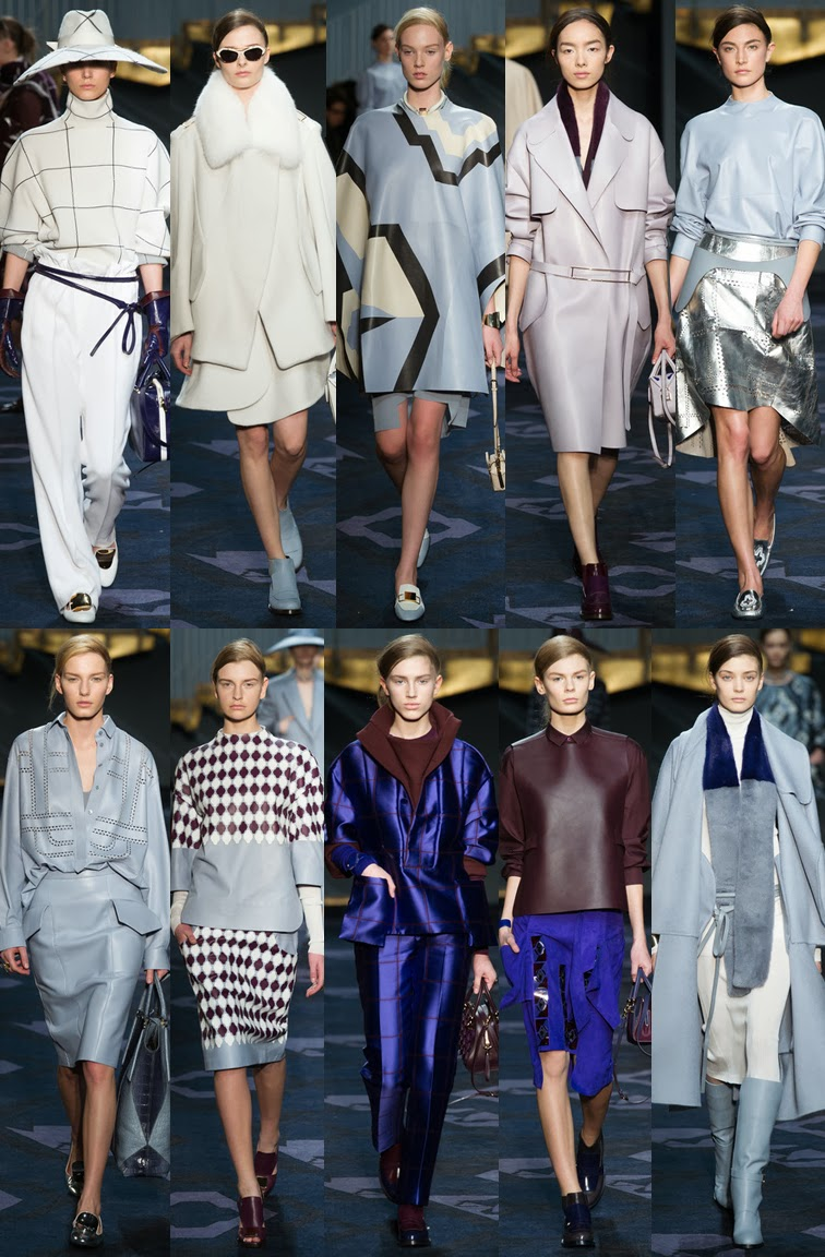 Tod's by Alessandra Facchinetti fall winter 2014 runway collection, FW14, AW14, MFW, Milan fashion week