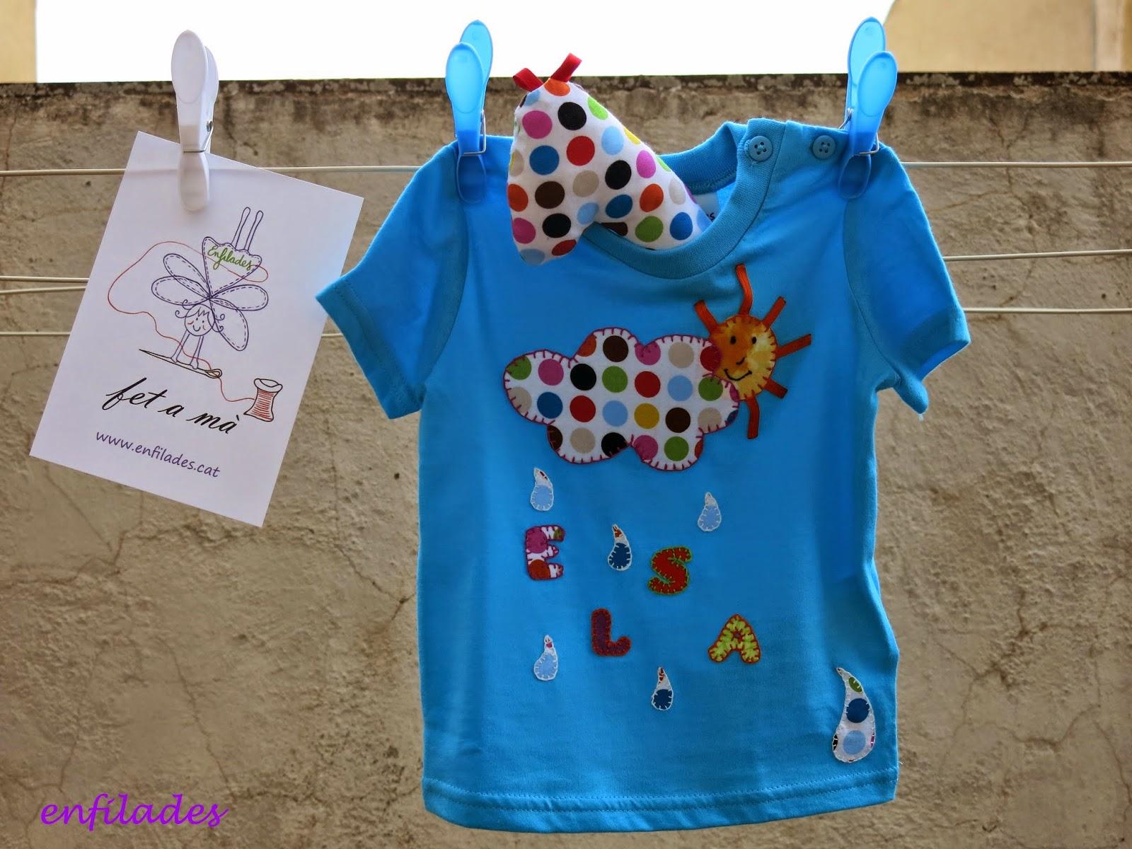 Samarreta Elsa - disseny Enfilades