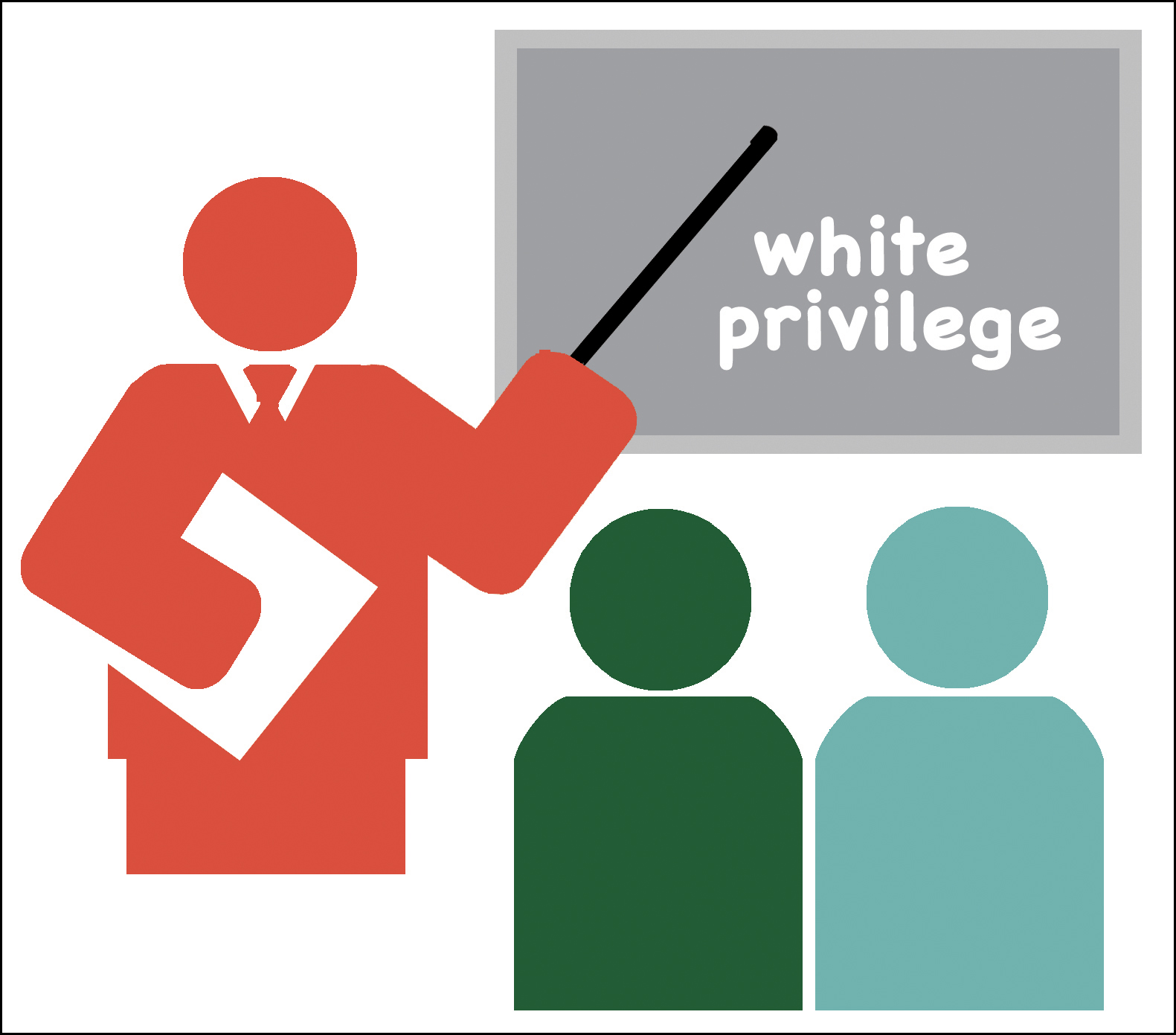 white priviledge A poster campaign at a school district in british columbia's interior aimed at creating conversations about racism and privilege has struck a nerve with some parents.