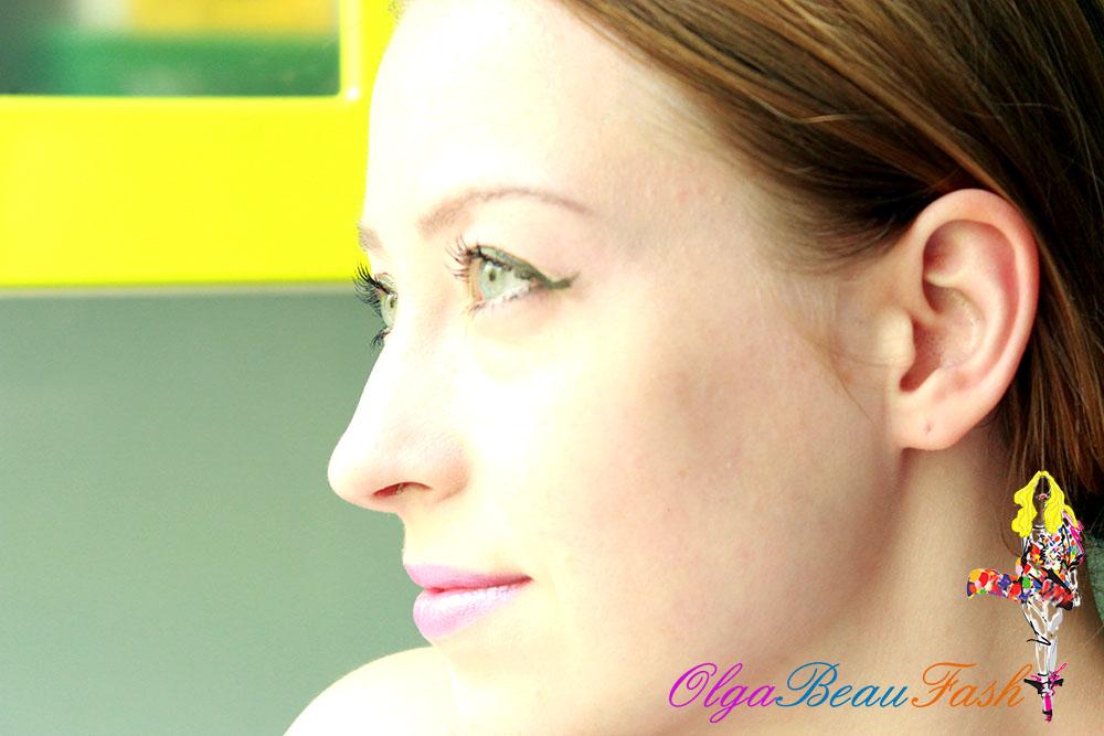 макияж, яркий макияж, красивый макияж, весенний макияж, зеленый,