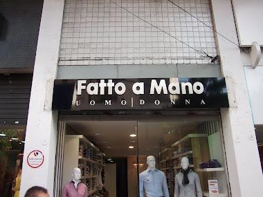 Fachadas em ACM Brilhante, Letreiros em Letras Caixa Loja Fatto Mano São Paulo-SP
