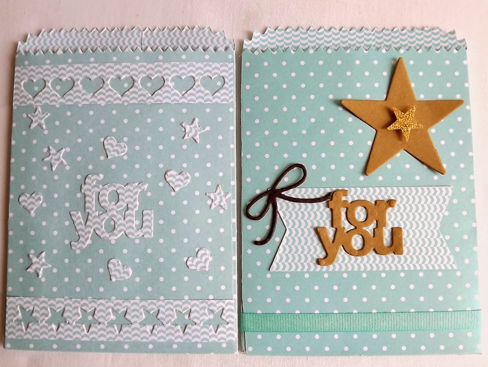 Stampin Up! mini treat bags, soft sky, pool party dsp