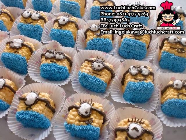 Souvenir Ulang Tahun Minion Cake Daerah Surabaya - Sidoarjo