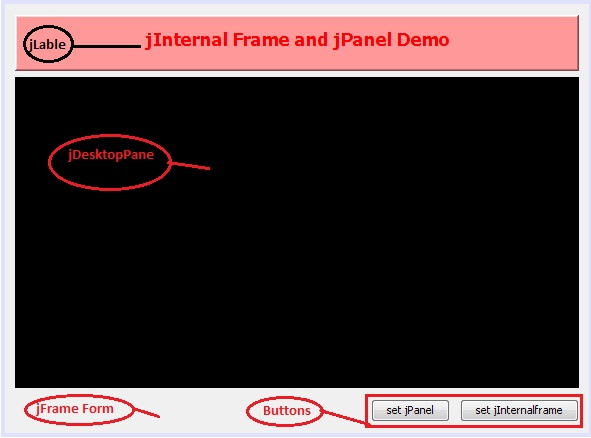 How to add jInternal frame and jPanel into jDesktopPane | Java ...