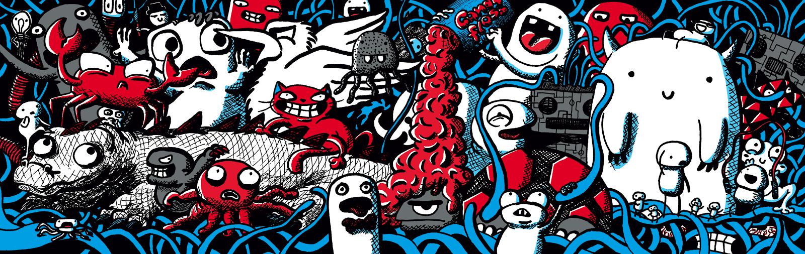 Spaghetti Doodles - Jen Haugan Animation & Illustration