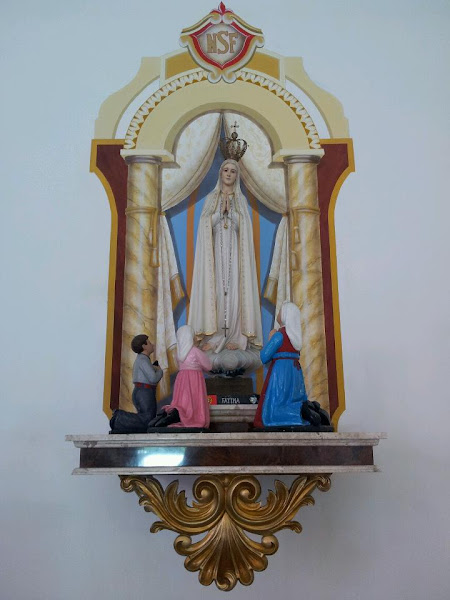 Base e Pintura - Igreja Nossa Senhora de Fátima - RJ