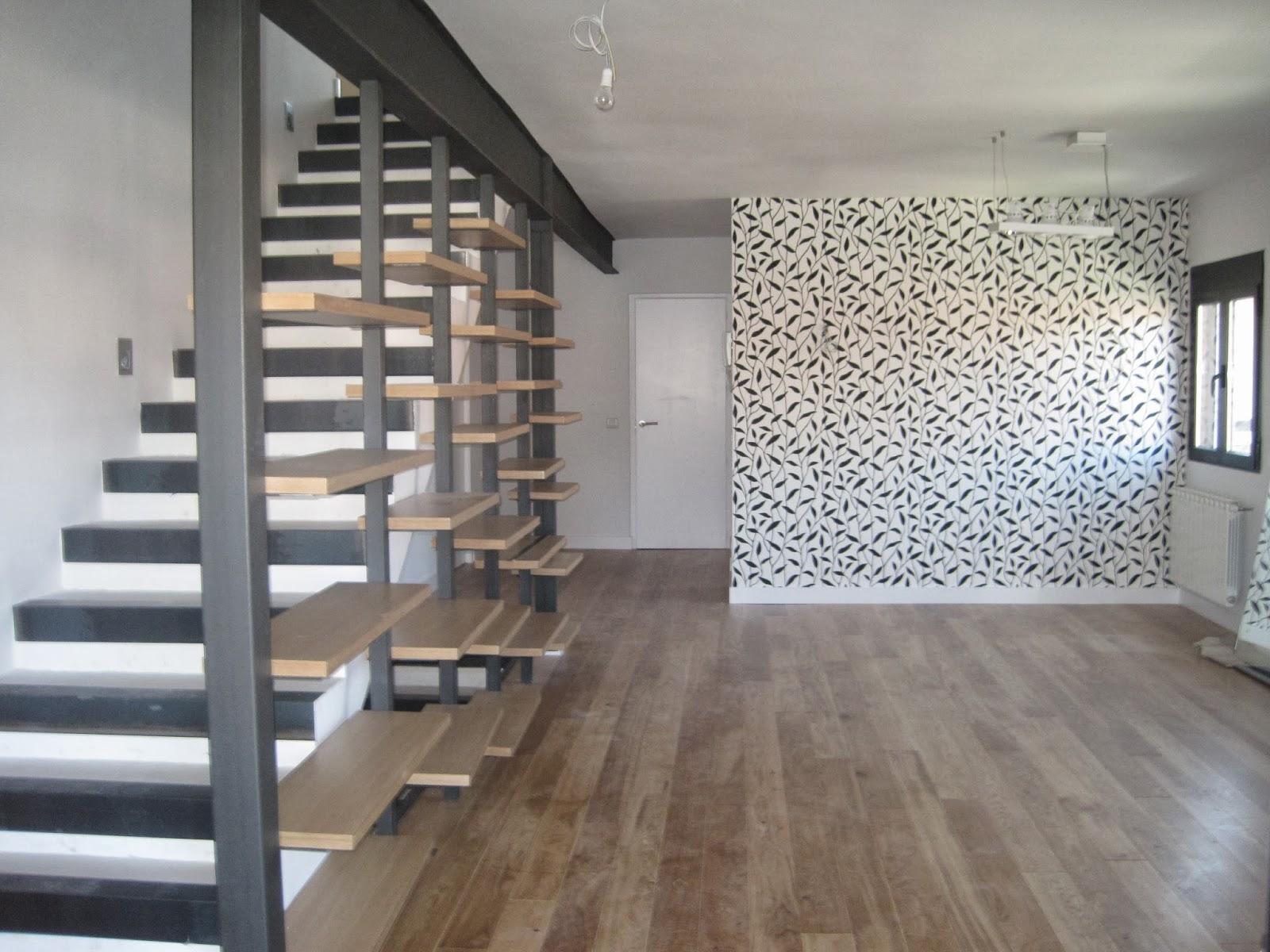 Marta decoycina escaleras subir con estilo - Escaleras de madera modernas ...