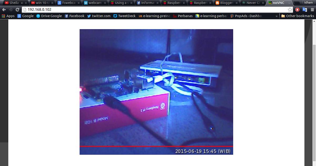 Membuat Motion CCTV USB Webcam Menggunakan Raspberry Pi 2 ...