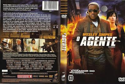 Filme O Agente (The Contractor) DVD Capa