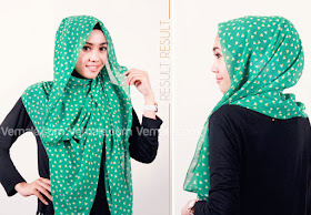 cara memakai hijab pashmina dengan praktis