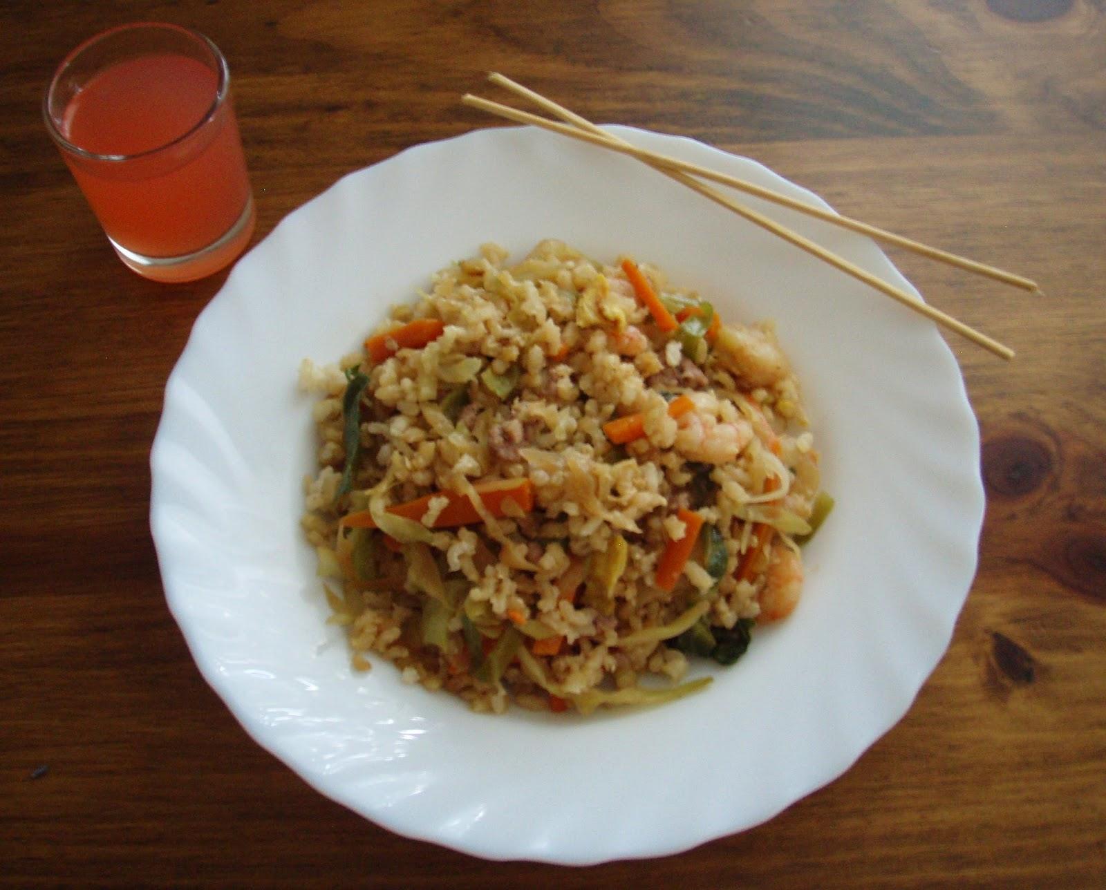 El tiempo entre cucharas arroz 3 delicias for Cocinar arroz 3 delicias