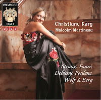 Christiane Karg and Malcolm Martineau: Wigmore Hall Live: WHLive0062