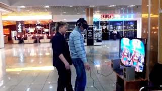 Веселое испытание очков Oculus Rift/ Joker and Oculus Rift