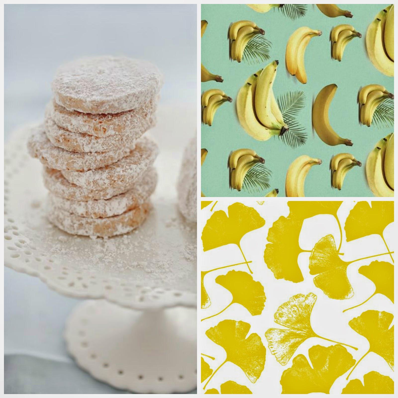 biscotti alla banana / banana cookies recipe