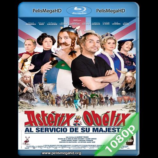 ASTERIX Y OBELIX: AL SERVICIO DE SU MAJESTAD (2012) 1080P HD MKV ESPAÑOL LATINO