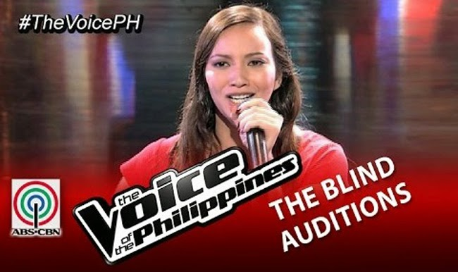 Video: Venessa Monot sings 'Pangarap Lang' on The Voice of the Philippines Season 2 Blind Audition