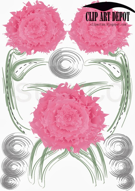 Rose Pattern With white Background, Vector 2013 free home use