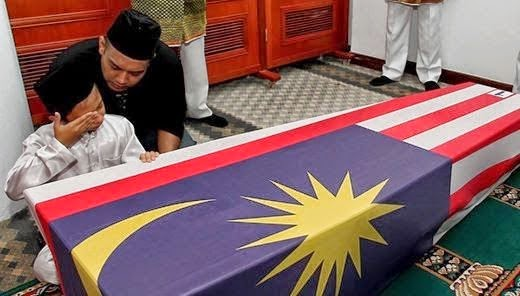 Anak Pramugari Mahu Buka Bendera Peluk Jenazah Berita Palsu