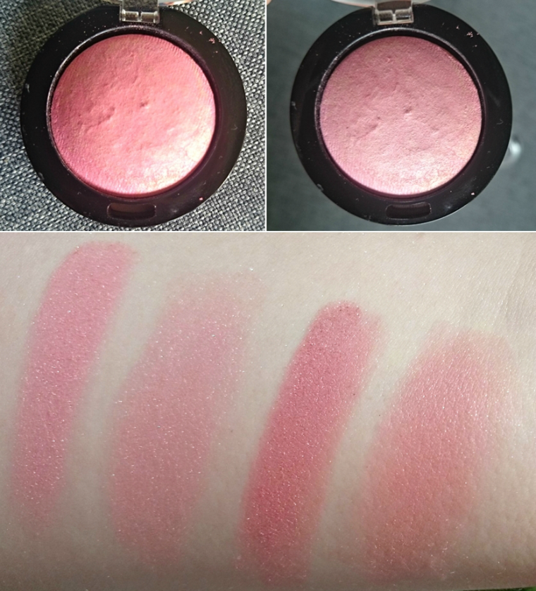 Max Factor Creme Puff blush 05 Lovely Pink 15 Seductive Pink