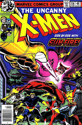 X-men v1 #118 marvel comic book cover art by John Byrne