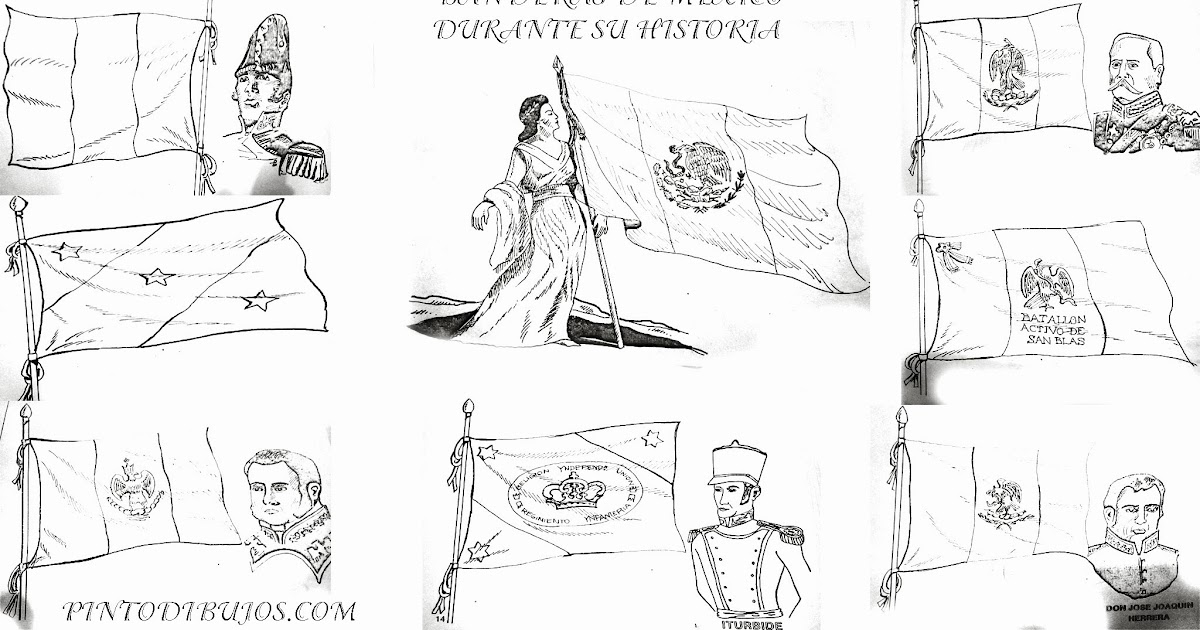 Pinto Dibujos: Niños héroes – 13 de septiembre – dibujo