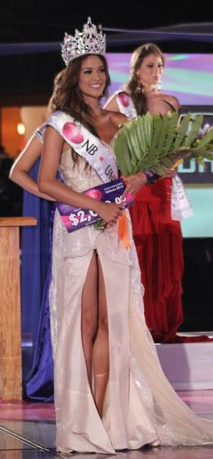 Miss Nuestra Belleza El Salvador Universe Universo 2012 Ana Yancy Clavel