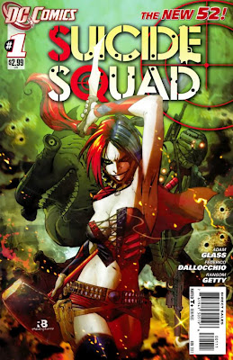 Suicide Squad Issue #1 Cover Artwork
