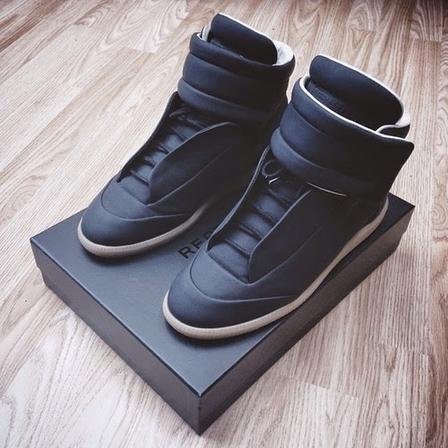 maison martin margiela black future sneakers 2015 collection online spentmydollars