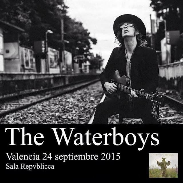 THE WATERBOYS (Sala Republicca, Valencia 24-9-2015)
