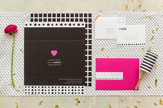 Fiesta de chicas en rosa - Invitación personalizada1