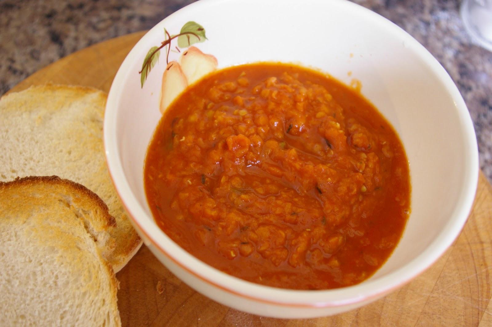röda linser soppa recept