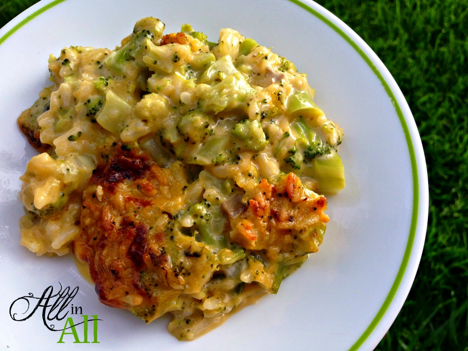 Cheesy Broccoli Rice Casserole - This comforting dish will be the hit ...