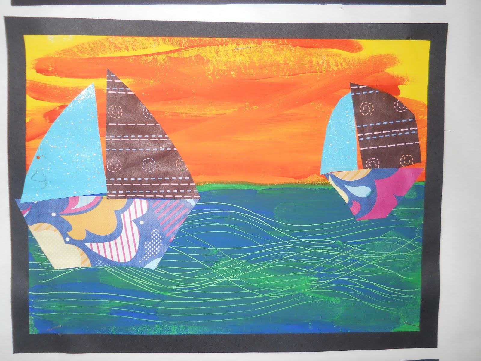 mrs t s first grade class sailing into second grade