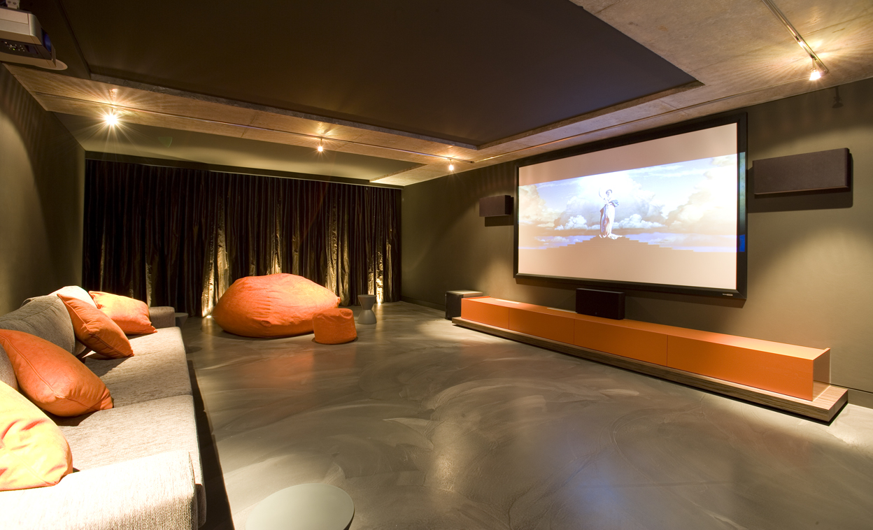 Minosa the centre of attention the modern home theatre - Interior design for home theatre ...