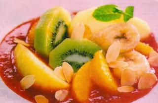 Receta rica macedona de frutas