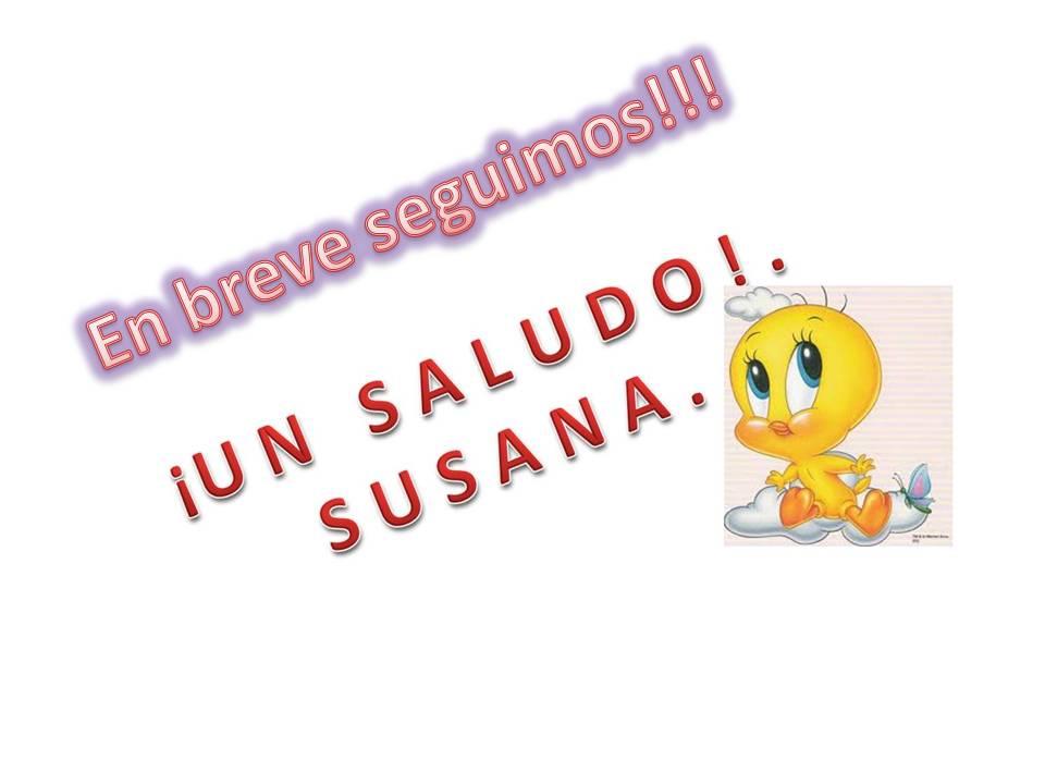Hola, soy Susana, bienvenid@ a mi blog!!