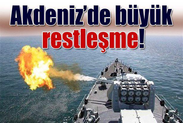 Bakalım bu işin sonunda Türkiye diye bir ülke kalacak mı? Akdeniz'de büyük restleşme