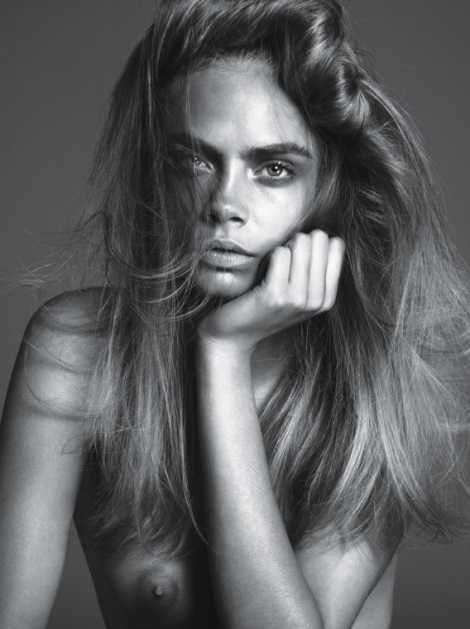 Cara Delevingne by Mert & marcus for W Magazine