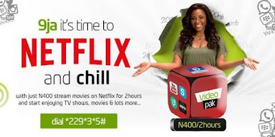 Etisalat netflix VideoPak package