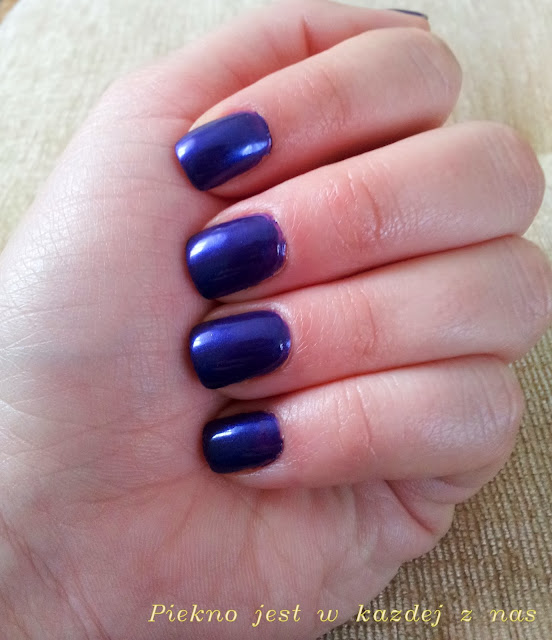 Recenzja lakieru P2, Color Victim nail polish nr 970 keep in touch