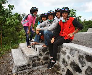 Bersilaturahmi Dengan Warga di Gunung Merapi
