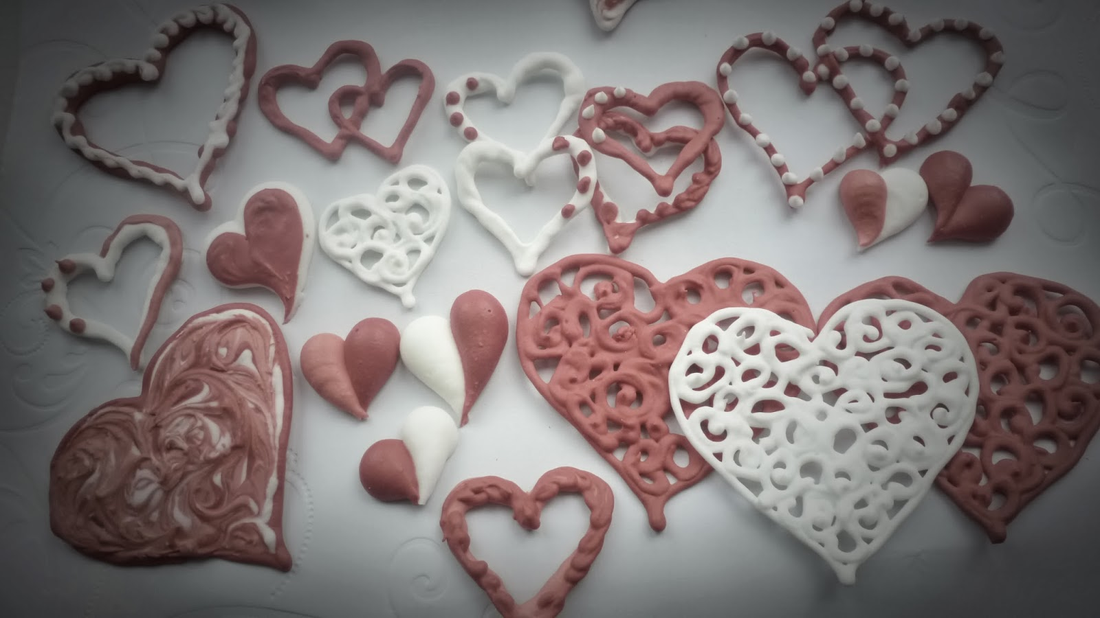 Royal Icing Hearts