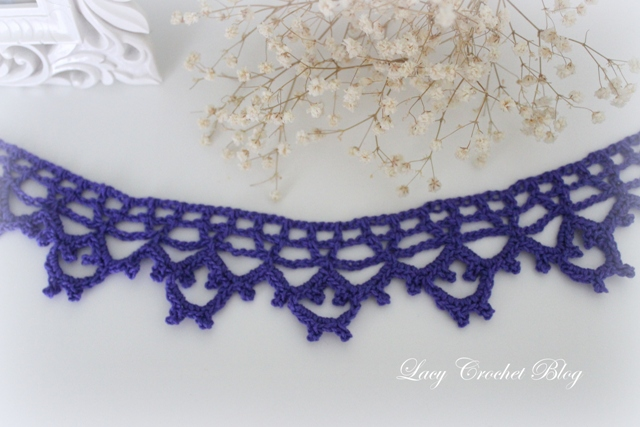 Crochet Lace Edging Free Pattern : Lacy Crochet: Vintage Lace Crochet Edging