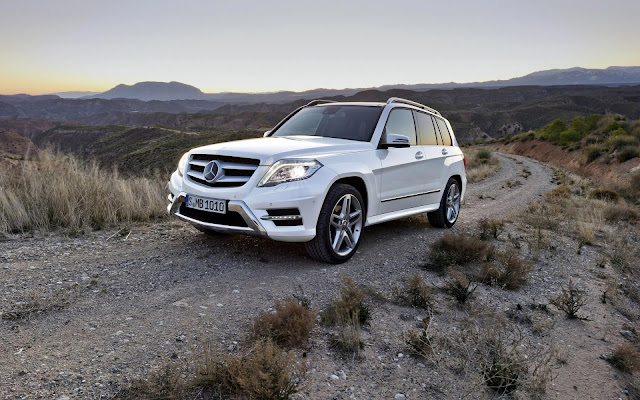 Mercedes Benz GLK Class Shine Noble Tmperament Luxury Medium Sized Coupe White