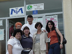 Nancy with her Maternal child Health Team in Kosovo