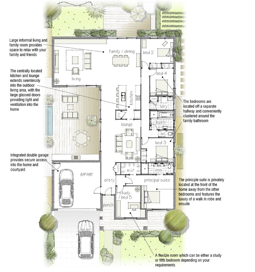 Floor plans for Av jennings home designs