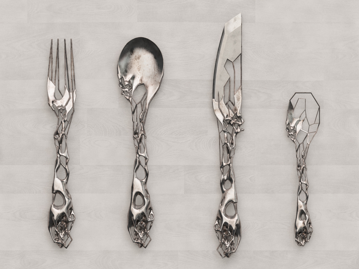 Cutlery set eragatory Unique flatware sets