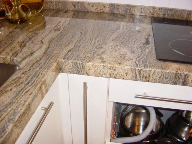Granito claro para cocina materiales de construcci n for Comprar encimera de granito